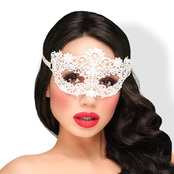 EIS Elegante Maske in weiß