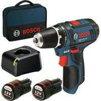 Bosch GSR 12V-15 Professional inkl. 2 x 2,0 Ah 060186810F