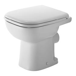 Duravit Duravit D-Code Stand-WC compact 480 mm, Tiefspüler, 210809