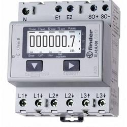 Finder, Energiemessgerät, Drehstromzähler digital 65 A M