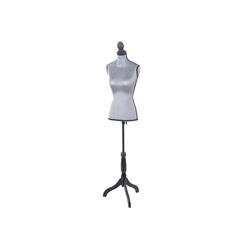 MCW Schneiderpuppe T221, Höhenverstellbar, Torso weiblich grau