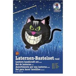 Laternen-Bastelset 33 'Katze'