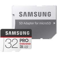 Samsung microSDHC Pro Endurance 32GB Class 10 UHS-I U1 + SD-Adapter