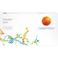 CooperVision Proclear Toric (6 Linsen) / 8.80 BC / 14.40 DIA / -5.00 DPT / -0.75 CYL / 20° AX