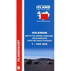 Island 1 : 300 000. Hochlandkarte