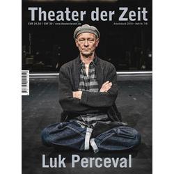 Luk Perceval als Buch von