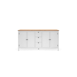 HTI-Living Sideboard Sideboard Bergen mit 4 Türen und 3 Schubladen, Sideboard
