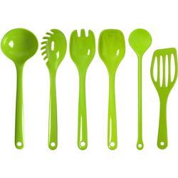 WACA Kochbesteck-Set (Set, 5-tlg) grün