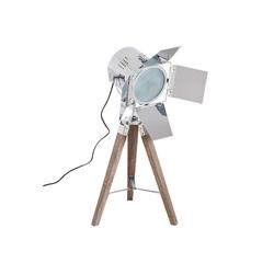 HOMCOM Tischleuchte Tripod-Tischlampe