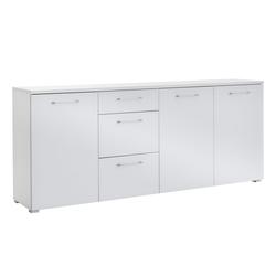 Vito Sideboard 6015 in weiß, 3-türig