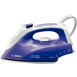 Bosch TDA2680 Bügeleisen Trocken- & Dampfbügeleisen Palladium-Sohle 2300 W Violett, Weiß
