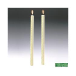 Amabiente Kerzenhalter Kerze CLASSIC Blattgrün 40cm - 2er Set