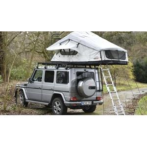 CAMPWERK Adventure Dachzelt inkl. Matratzenunterlage, 165cm, grau