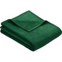IBENA Wohndecke »Berlin«, IBENA Hochwertige Konfektion mit Markenpatch, grün