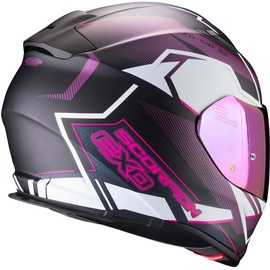 Scorpion Exo-510 Air Balt Matt-Black/Weiß/Pink