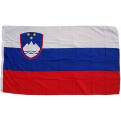 XXL Flagge Slowenien 250 x 150 cm Fahne mit 3 Ösen 100g/m² Stoffgewicht
