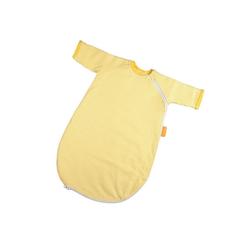 Hoppediz Babyschlafsack HD Baby-Schlafsack 56-62 gelb gestreift mit Gurtsc