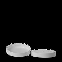 Deckel für Weißblechdosen PP weiß RD 110