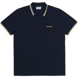 Carhartt Wip - S/S Script Embroider - Poloshirts - Größe: XL