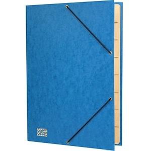 RNK-Verlag Ordnungsmappe   9 Fächer blau