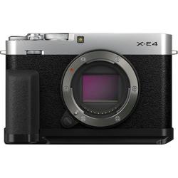 FUJIFILM X-E4 ACC Kit Systemkamera (26,1 MP, Bluetooth, WLAN (WiFi) silberfarben