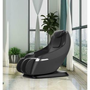 Luxus Massagesessel Shiatsu Leder schwarz mit Rollentechnik Heizung Zero Gravity