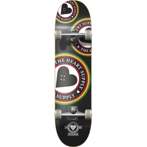 Komplett HEART SUPPLY - Orbit Logo Skateboard (MULTI) Größe: 7.75in