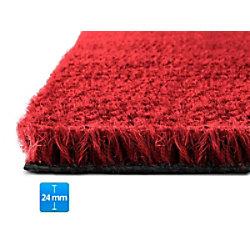 Fußmatte PALMERAS Kokos Rot Kokosfaser, Vinyl 24 mm 400 x 600 mm