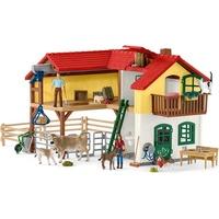 Schleich Farm World-Bauernhaus mit Stall und Tieren 42407