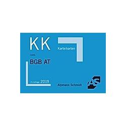 Alpmann-Cards  Karteikarten (KK): Karteikarten BGB Allgemeiner Teil. Jan S. Lüdde  - Buch