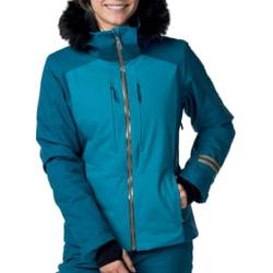 Rossignol - W Ski Jkt Duck Blue  - Skijacken - Größe: L