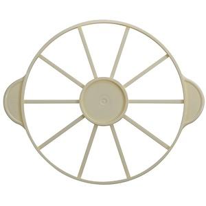 Paderno 47032–10 Tortenteiler für 10 Stücke, Polypropylen