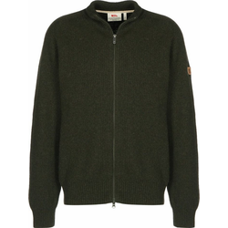 Fjällräven Strickjacke Greenland Re-Wool grün L