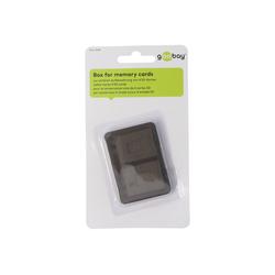 AccuCell Aufbewahrungsbox für bis zu 4x SD Speicherkarten Speicherkarte