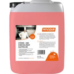 NOVADUR Stärke- und Eiweißlöser Gastroline, Spezialreiniger für alle Großküchen, 10 l - Kanister