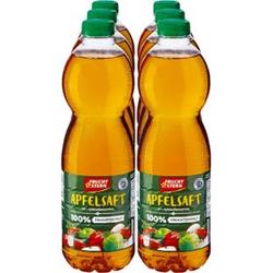 Fruchtstern Apfelsaft 1,5 Liter, 6er Pack