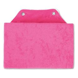 Bestlivings Reisekissen, Badewannenkissen, Nackenkissen in 16x25cm, Kissen für die Badewanne rosa
