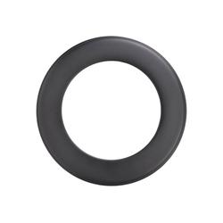 Firefix Rosette, Ø 180 mm, 1-St., starr, für Rauchrohr
