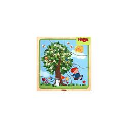 Haba Steckpuzzle Lieblingsjahreszeit (Holzpuzzle), Puzzleteile