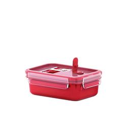 Emsa Mikrowellenbehälter Mikrowellendose Clip Micro, Kunststoff 550 ml