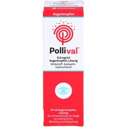 POLLIVAL 0,5 mg/ml Augentropfen Lösung 10 ml