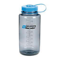 Nalgene Everyday Weithals Trinkflasche 1 Liter grau