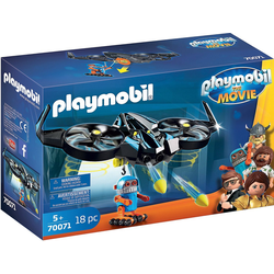 Playmobil® Konstruktions-Spielset PLAYMOBIL®70071 THE MOVIE Robotitron mit Drohne