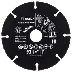 Trennscheibe Hartmetall Multi Wheel. 125 mm. 22.23mm. 1 mm