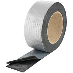 Poppstar Klebeband Alu Butyl Klebeband (Alu Butylband selbstklebend, 5m x 50mm x 1,5mm) 5m x 50mm x 1,5mm