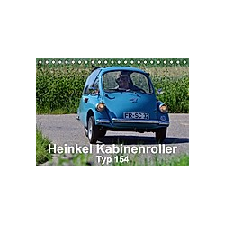 Heinkel Kabinenroller Typ 154 (Tischkalender 2021 DIN A5 quer) - Kalender