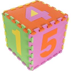 Kinderteppich Puzzle 2, Andiamo, Motivform, Höhe 10 mm, In- und Outdoor geeignet, Puzzle Matte