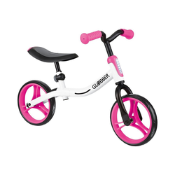 Globber Laufrad Laufrad Go Bike, weiß/pink rosa