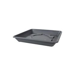 HTI-Living Pflanzkübel Untersetzer Lara 40 cm (1 Stück) grau