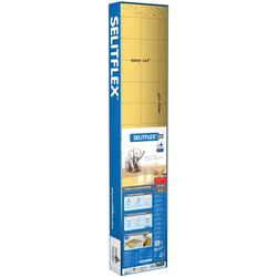 Selit Trittschalldämmplatte SELITFLEX, 1,6 mm, 18 m², für Fußbodenheizung geeignet, faltbar,mit Tape